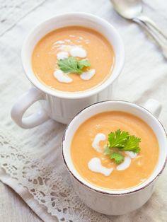 Kürbissuppe mit Kokosmilch