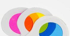 Actividades para Educación Infantil: EXPERIMENTO: ruedas para mezclar colores