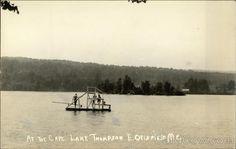 At the Cape- Lake Thompson E. Otisfield Maine