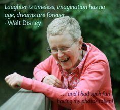 Walt Disney on laughter