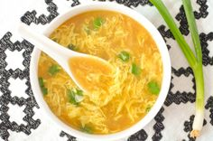 This Homemade Egg Drop Soup Recipe is fast to make and will taste just like your favorite Chinese takeout!