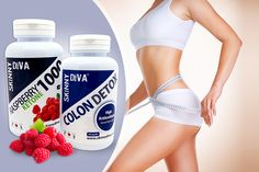 2 or 4mth Supply* of Raspberry Ketone & Colon Detox Capsules