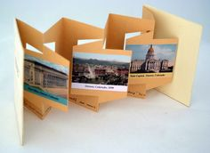 "Alicia Bailey ""I make my Wallpaper from your Postcards"" by BookArtObject, via Flickr"