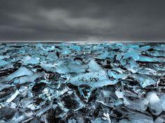 Lac de Jökulsarlon (Islande)