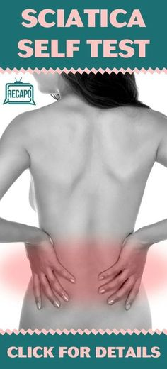 What if you had a severe pain that came out of nowhere? Many people experience this (called Sciatica) due to a pinched Sciatic Nerve. Learn how you can diagnose this at home. Natural Health Remedies, Natural Cures, Home Remedies, Health Diet, Health And Wellness, Health Advice, Sciatic Nerve, Sciatic Pain, Nerve Pain