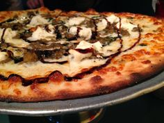 Roasted Eggplant pizza from Penguin Pizza in Boston | The Economical Eater