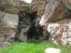 Cave on Beinn Ratha Bheag