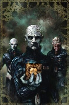 Hellraiser- Who needs vampires or werewolves or even zombies when I raise hell just to be with you.