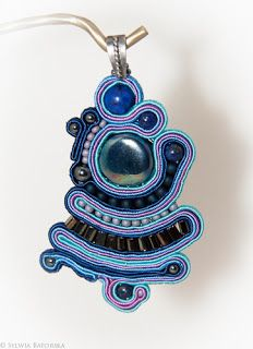 Soutache necklace. Soutache Necklace, Belly Button Rings, Jewelry, Fashion, Moda, Jewlery, Jewerly, Fashion Styles, Schmuck
