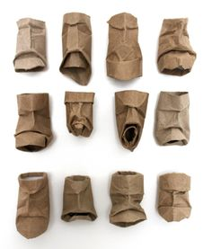 toilet paper tube faces!  We could make them and give them to audience.