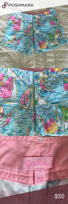 Lilly Pulitzer Shorts Size 0. Never worn! Lilly Pulitzer Shorts Skorts