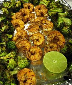 Super Speedy broccoli and shrimp - meatified