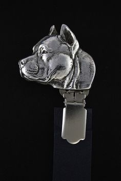American Staffordshire Terrier dog clipring by ArtDogshopcenter