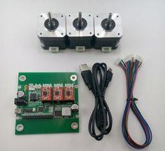 DIY-3-Axis-CNC-Machine-Parts-Laser-engraver-Grbl-control-board-3pc-Stepper-Motor
