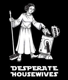 Desperate Star Wars T-Shirt von Kater Likoli, Mannheim, Deutschland | Design by Kristijan, Belgrad $19.95