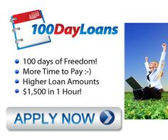 1 Hour Direct – Do You Need Extra Cash?  Cash in as little as 1 hour! Safe and secure loan application - Instant online approval - NO credit checks, NO fees  http://resale-ebooks.com/100dayloans-1-hour-direct-do-you-need-extra-cash/?mn=10093