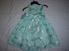 """""""American Princess""""Girl Dress Size 5 Color Green New with Tag 