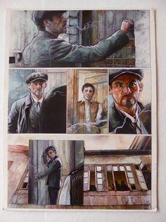 Le Hénanff, Fabrice - Original plate - Modigliani - (2013) - W.B.