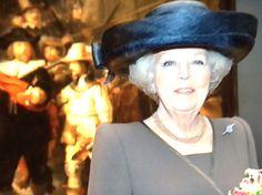 Koningin Beatrix voor de Nachtwacht !