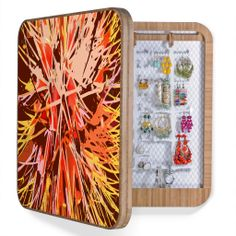 Rosie Brown Natures Fireworks BlingBox   DENY Designs Home Accessories  #wallart #homedecor #organize #box #denydesigns #denyholiday #art #jewelry