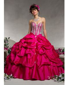 Pretty in Pink #quinceanera #dress# rhinestones http://www.quinceaneramall.com/p-3438-quinceanera-dress-88064.aspx