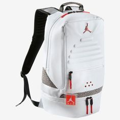 "61a965850f3492 Brand new with tags Air Jordan Retro 3 Backpack ""black cement"". Has Retro  tag attached and everything!"