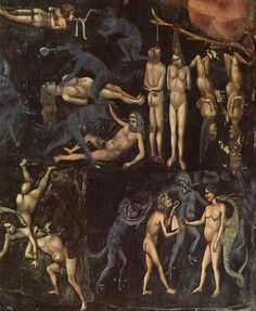 Giotto di Bondone, Giotto, 'El juicio final', 1306 / arte cristiano