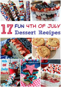 4th of july dessert ideas easy