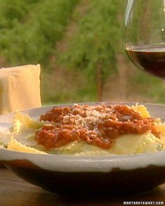 Gallo Ravioli - filled with roasted chicken, swiss chard and ricotta cheese