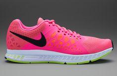Nike Womens Zoom Pegasus 31 - Womens Running Shoes - Hyper Pink-Black-Volt, my shoes :)))