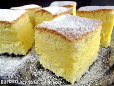 Prajitura cu vanilie Fodmap Recipes, Lemon Recipes, Dairy Free Recipes, Sweet Recipes, Cake Recipes, Dessert Recipes, Gluten Free Sweets, Gluten Free Cakes, Gluten Free Cooking
