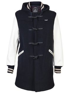 VARSITY DUFFLE COAT ZOMG THE REVOLUTION HAS ALREADY HAPPENED AND THIS IS IT