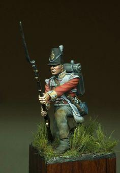 British infantry at Waterloo.