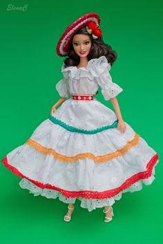 https://flic.kr/p/ocuR1F | Barbie Collezione moda nel mondo - 39 - MESSICO…