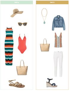 Ten Day Summer Vacation Packing List and Outfits - Get Your Pretty On Ten Day Summer Vacation Packing List and Outfits - Get Your Pretty On Source by for Beach vacation outfits Summer Vacation Style, Beach Vacation Packing List, Summer Vacation Outfits, Summer Outfits For Teens, Cruise Outfits, Simple Outfits, Beach Vacations, Beach Outfits, Outfit Summer