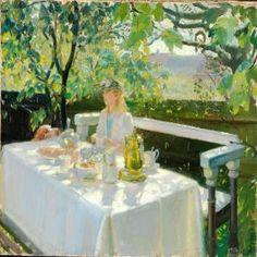Anna Ancher - Ved Frokosten