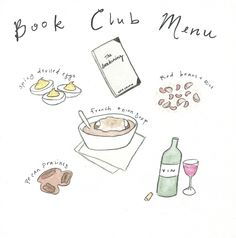 Crumbs Above Gold - Book Club Menu for Kate Chopin's The Awakening