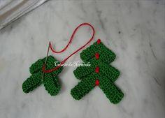 Árvore de Natal em Crochê -  /  Christmas Tree Crochet - 5