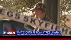 Controversial land reforms in South Africa are raising tensions as the nation's white minority arm themselves to defend their farms against government seizur. Africans, African American History, South Africa, Counter, Arms, Knowledge, Youtube, God, Wall