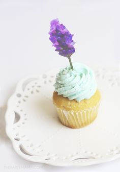Free Printable Floral Cupcake Toppers