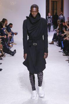 Balmain Fall 2018 Menswear Fashion Show Collection