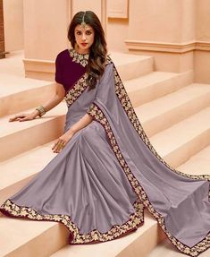 """1c82b918225ac House Of 2 on Instagram  """"SSS722 Border saree To purchase this product mail  us at houseof2 live.com or whatsapp us on +919833411702 for further detail   sari ..."""
