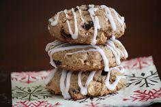 Cherry Almond Quinoa Breakfast Cookies