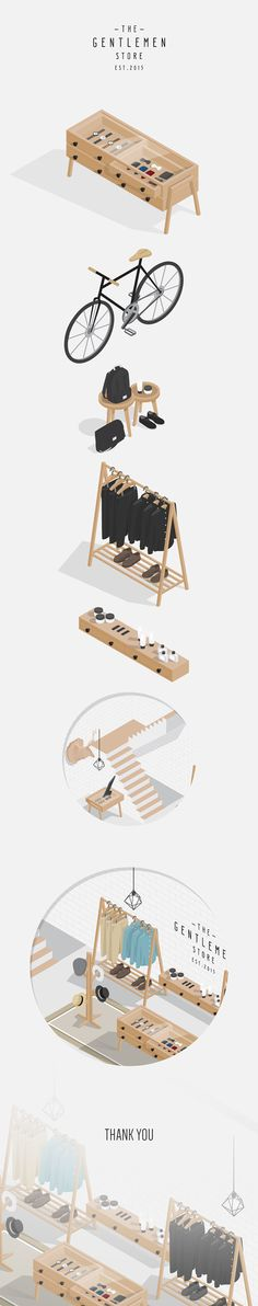 Another isometric illustration personal project, but this time I made it more minimalistic and more detail on each objects.