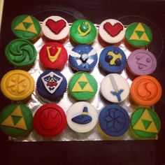 zelda cupcakes - Google Search