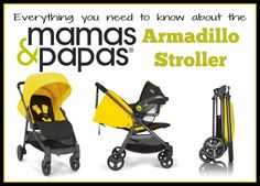 Check out the Mamas and Papas Armadillo Stroller!