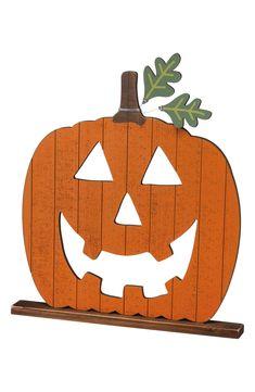 Candy Corn Wooden Table Sitter Set Autumn Halloween Fall Harvest