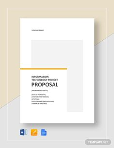 IT Project Proposal Template Writing A Business Proposal, Business Proposal Template, Project Proposal Template, Proposal Templates, Simple Budget Template, Problem Statement, Software Projects, Word Doc, Letter Templates