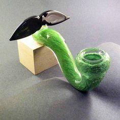 Piece of the Week | Mustache Sherlock Glass Pipe | Weedist