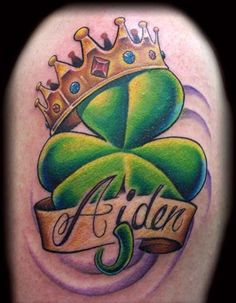 tattoo of of tattoo clover tattoo irish shamrock tattoos forward Tribal Tattoos, Key Tattoos, Sugar Skull Tattoos, Cute Tattoos, Garter Tattoos, Rosary Tattoos, Crown Tattoos, Bracelet Tattoos, Wing Tattoos